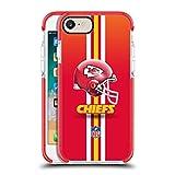 Head Case Designs Oficial NFL Casco Logotipo de Kansas City Chiefs Funda Protectora de Gel a Prueba de Golpes Compatible con Apple iPhone 7 / iPhone 8 / iPhone SE 2020