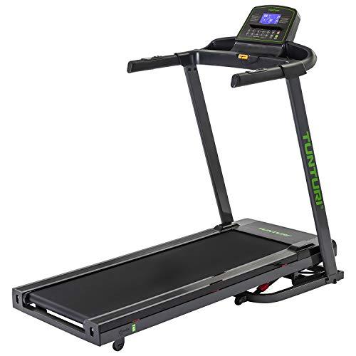 Tunturi Laufband Cardio Fit T40, Hometrainer für Zuhause mit 41 Programmen, 10 Winkel, 1-16 km/h