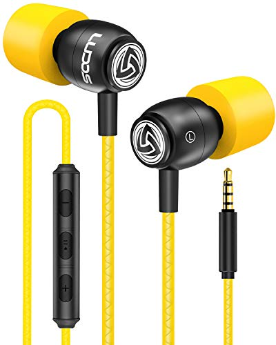 cuffie gaming gialle LUDOS CLAMOR Auricolari In-Ear Cuffie con Microfono