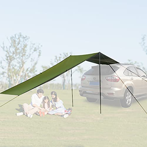 BJYX 440 x 200cm Toldo Furgoneta Camper Lateral, Tienda Techo Coche Camping PortóN Traser, Toldos para Autos Impermeable, Avance Coche para SUV, Mpv, Hatchback, Coche, Camping, Exterior