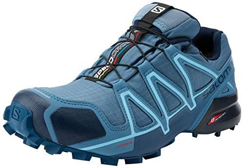 SALOMON Speedcross 4 GTX, Scarpe da Trail Running Donna, Blu (Kentucky Blue/Dark Denim/Pale Khaki), 37 1/3 EU