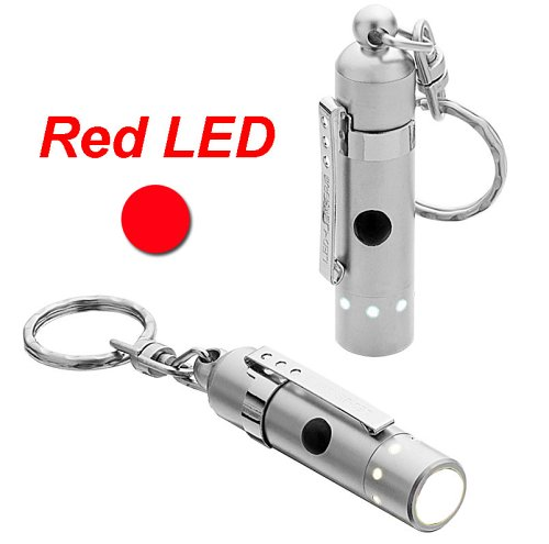 LED Lenser V8 Photonenpumpe rot