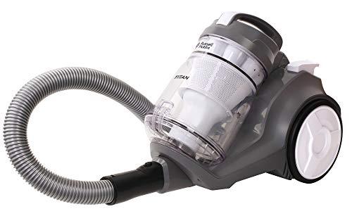 Russell Hobbs RHCV4001 Aspiradora con cilindro multi ciclón Titan, 800 W, 3 litros, blanco/gris