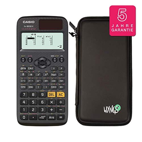 Casio FX-85DE X + Schutztasche + erweiterte Garantie