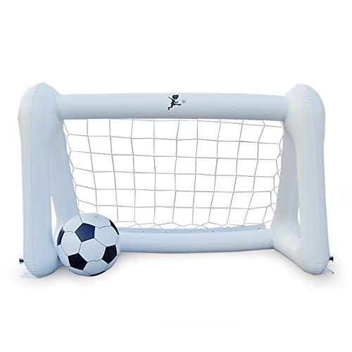 Xueliee Aufblasbares Fußballtor PVC Fußtisch Netz für Eltern Kinder spielen, 110*52*75cm, 110*52*75cm