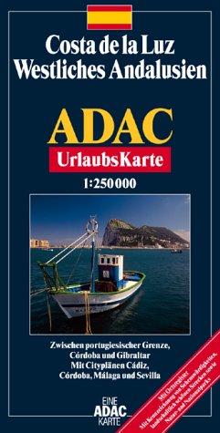 ADAC Karte, Costa de la Luz, Westliches Andalusien