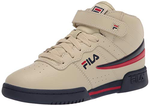 Fila Boy's F-13 - Zapatillas de baloncesto, color blanco, azul y rojo