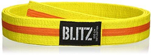 Farbiger Gürtel/Farbiger Streifen Mehrfarbig Gelb/Orange 280 cm by Blitz
