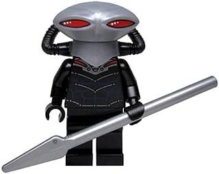 LEGO DC Comics Super Heroes Minifigure - Black Manta with Pike Spear (76027)