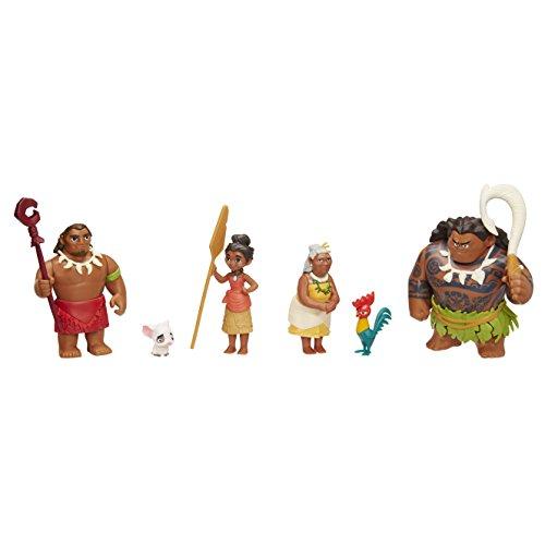 Disney Juego de Figuras Vaiana.