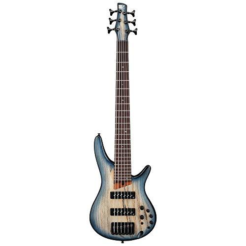 Ibanez SR Standard 6 String Electric Bass - Cosmic Blue Starburst Flat