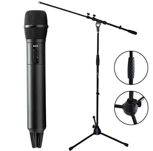 Rode TX-M2 handzender draadloze microfoon + keepdrum microfoonstandaard