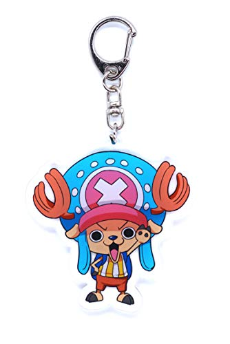 One Piece Schlüsselanhänger mit Chibi Figur (Chopper)