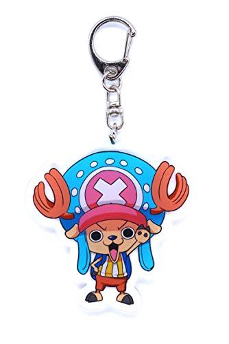 Anime Domain One Piece Schlüsselanhänger mit Chibi Figur (Chopper)