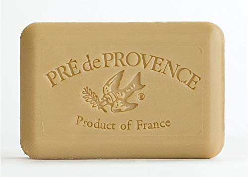 Pre de Provence Soap Shea Enriched Everyday 250 Gram Extra Large French Soap Bar - Verbena (Pack of 3)