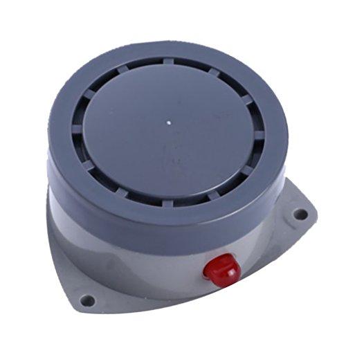 Baoblaze Detector de Sensor de Agua de Alarma de Fuga de Agua Resistente Al Agua Inalámbrico Ruidoso para Almacén, Garaje, Sótano, Cocina, Baño