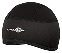 CYCLEHERO helmet cap padded (size: XS-M) Bicycle cap for men, women and children with EU fit