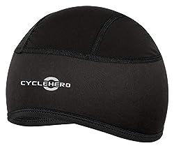 CYCLEHERO Helmmütze gepolstert (Größe: XS-M) Fahrrad Mütze für Herren, Damen und Kinder mit EU Passform