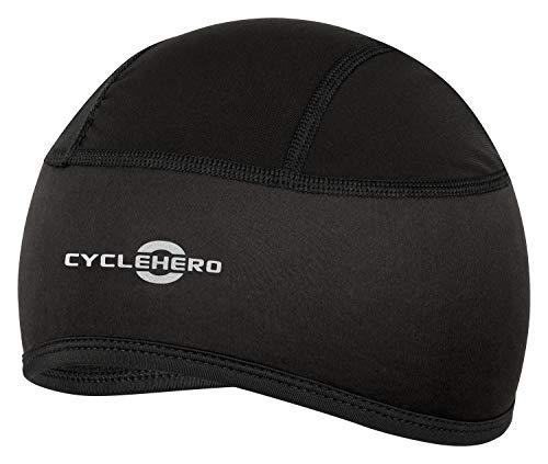 CYCLEHERO Helmmütze gepolstert (Größe:L-XXL) Fahrrad Mütze für Herren, Damen und Kinder mit EU Passform