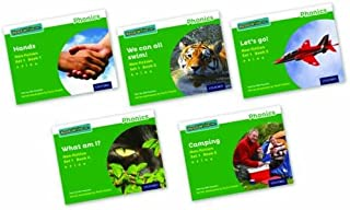 Read Write Inc. Phonics: Green Set 1 Non-fiction Mixed Pack of 5
