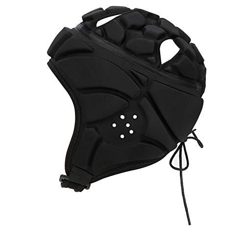 SANJIJIfeididna Protector de Cabeza Casco para Deportes Aire Libre Protector de Cabeza para Entrenamiento de Portero de Béisbol
