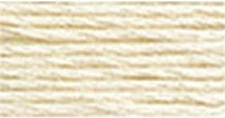 DMC Six Strand Embroidery Cotton 100 Gram Cone: Cream