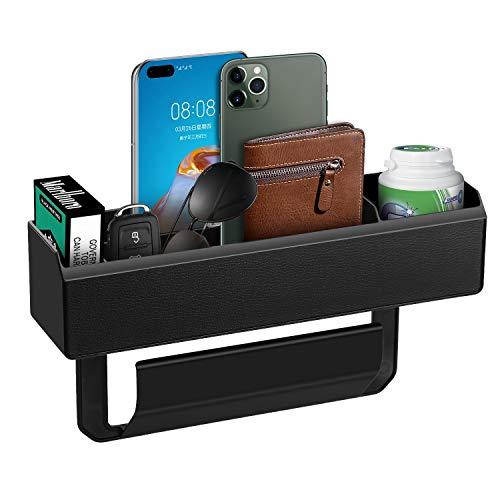 lululeague Aufbewahrungsbox Für Auto,Auto Seiten Taschen Organizer,Mittelkonsolen Organizer Autositz Armlehnenhalter Autofachablage 1PC