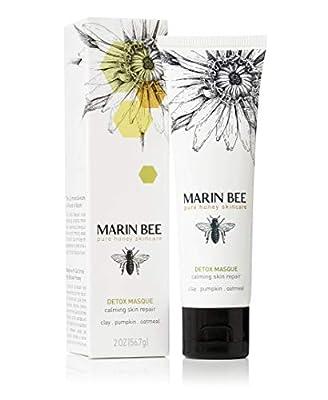Marin Bee, Detox Masque Calming Skin Repair Organic, 2 Ounce by Marin Bee