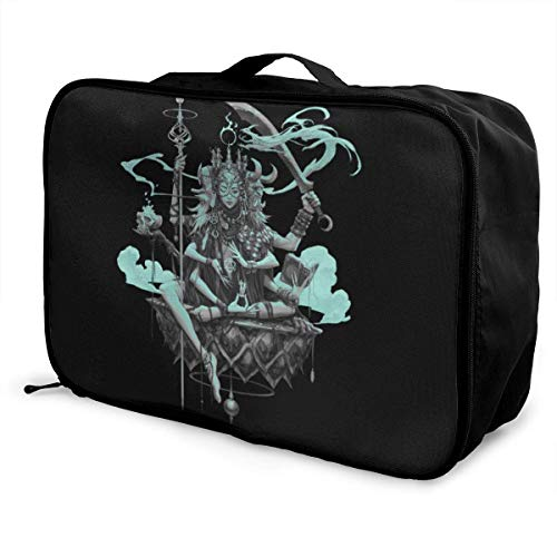 Fantasy Girl Travel Lage Duffel Bag Lightweight Suitcase Portable Bags for Women Men Kids Waterproof Large Bapa Caity