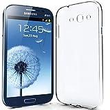 NewTop N Cover Compatibile per Samsung Galaxy Grand Neo i9082 i9060, Custodia TPU Clear Silicone Trasparente Slim Posteriore (per Grand Neo)