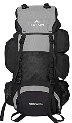 Teton Sports Explorer 4000 Internal Frame Scouting Backpack
