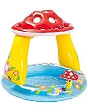 Vedes Großhandel GmbH 77703390 Baby Pool paddenstoel, diameter 102 x 89 cm, kleurrijk