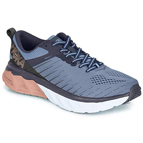 Hoka One Women's Arahi 3 Running Shoes, Allure Mood Indigo, 9.5 B(M) US Women