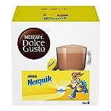NESCAFÉ Dolce Gusto Nesquik, Bevanda al Gusto di Cioccolato, 3 Confezioni da 16 Capsule (48...