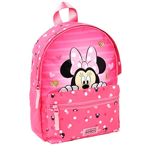 Looking | Kinder Rucksack | 31 x 25 x 12 cm | Minnie Maus | Minnie Mouse