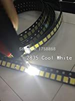 500PCS 20-25 LM cold white 2835 SMD LED 0.2W high bright chip leds NEW Hot 8000k-10000k