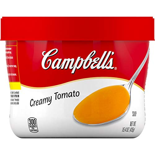 Campbell's Creamy Tomato Soup Microwavable Bowl, 15.4 oz.