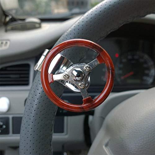 Xyhcs. 360 Auto-Lenkrad Knob Booster Kugel-Anti-Rutsch-Metall-Lager Macht Griff Spinner Hilfs Grip Drehen Helfer Zubehör (Color : Lavender)