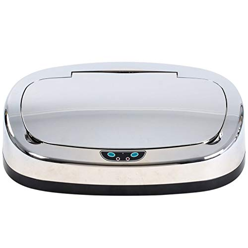 Kitchen Move 113 Deckel für quadratischen Küchenabfallbehälter mit ABS Sensor Chrom