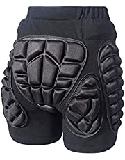 COOLOMG - Pantalones cortos de protección para snowboard, 3D, acolchados, transpirables, para niños, hombres, mujeres, patinadores, mucho más.