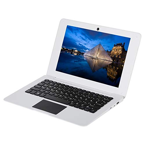 Il computer portatile 1068 Laptop, 10.1 pollici, 2 GB + 32 GB, Windows 10, Intel Atom Z8350-X5 Quad Core fino a 1.92GHz, supporto USB, Wi-Fi, ecc (bianco) (Color : White)