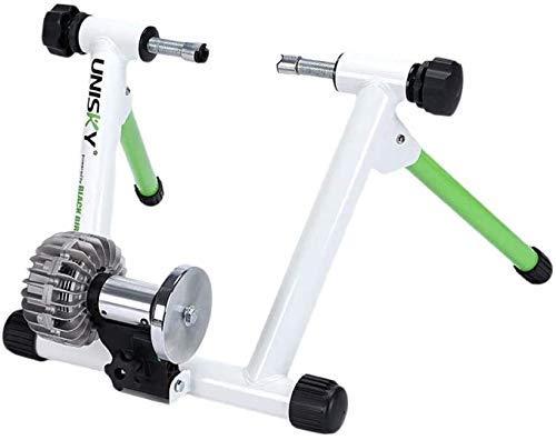 HAOYF 330 LBS Vélo Turbo Trainer Vélo De Route Entraîneur 750W Entraîneur Elite Spin Vélo Résistance Portable Sport Exercice Vélo Support Rouleau avec Support De Vélo pour Le Vélo en Intérieur