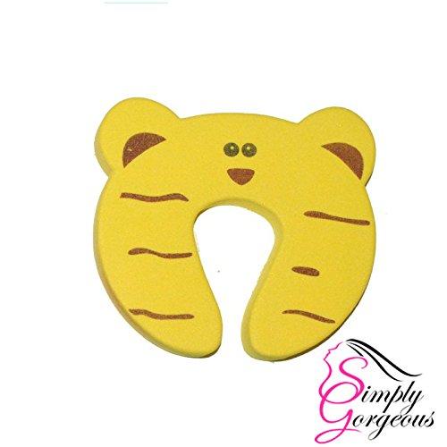 Protecteur de porte animal tigre