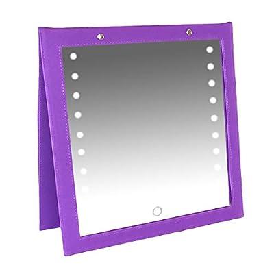 Backstage LED Folding Mirror
