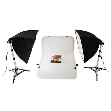 METTLE Studioset Oregon (Aufnahmetisch/Fototisch, Beleuchtung)