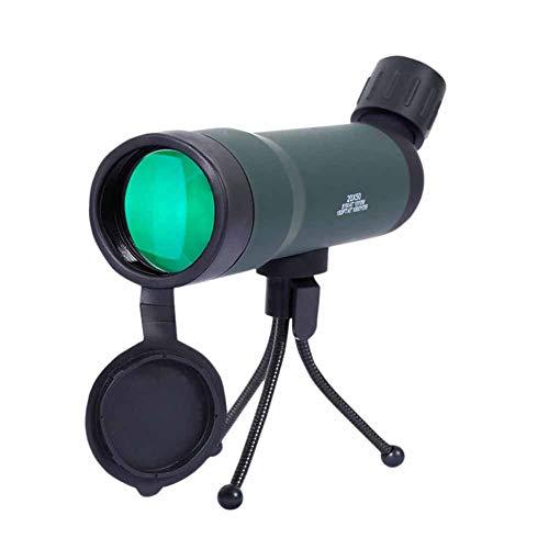 Qys Telescopio 20x50 de un Solo Cilindro de Zoom Continuo para Ver la