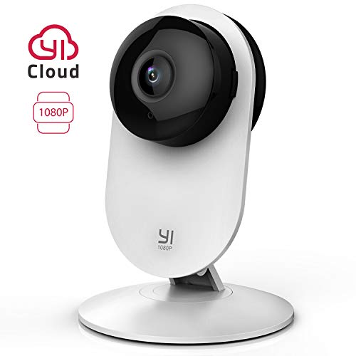 YI Home Camera 1080p IP Überwachungskamera, Smart Home Kamera mit Nachtsicht, Bewegungsmelder, 2-Way Audio, Haus Monitor Pet Monitor, App für Smartphone, YI Cloud Service