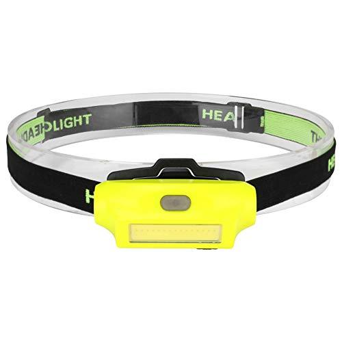 hehuanxiao LED Linternas Frontal Faros Delanteros Faros Delanteros 2 Modos Luz de Haz Lámpara de Cabeza de Linterna portátil Antorcha de Carga USB Iluminación Exterior