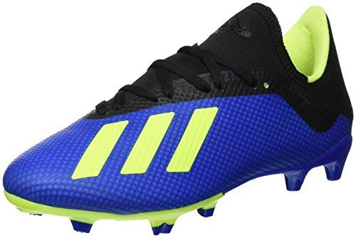 adidas Herren X 18.3 FG Fußballschuhe, Blau, 42 EU