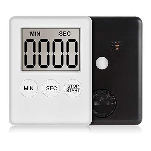 Digitaal display super LCD Slim timer vierkant koken countdown alarm slaap stopwatch